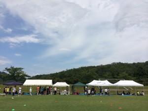 希望館キャンプ 青い空