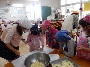 5歳児 野菜切り
