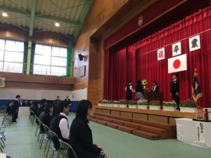 修立小学校卒業式