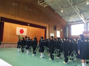 鳥取市立修立小学校入学式