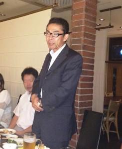 藤原組 現場監督 荻原さん